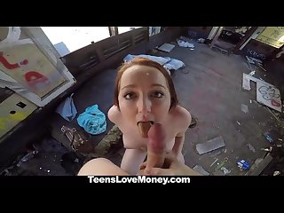 Teenslovemoney leigh rose loves money and sex