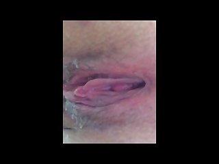 Wide open wet creamy pussy