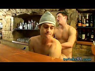 Milking fuck movie gay Corbin & PJ - Underwear Night After Hours
