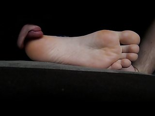 Sleeping feet worship 4