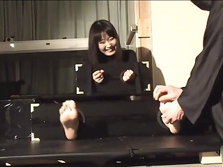 Japanese feet tickle11