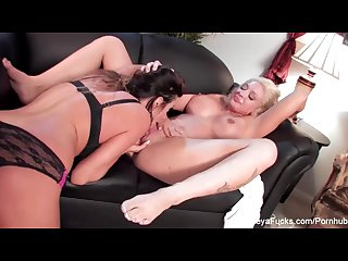 Leya falcon lesbian fuck