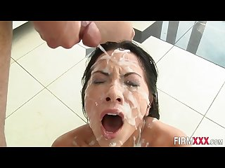 Asian Babe gets Bukkaked, Free HardX HD