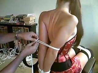 Sasha fae tied and gagged part 1