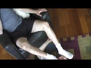 The old fag worship the white socks