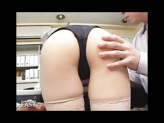 Uncensored amateur japanese office sex
