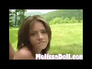 Melissa doll outdoor fuck