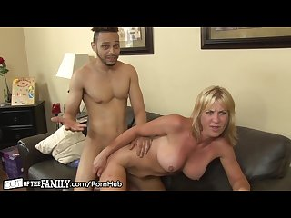 Black son in law sticks it in slutty moms ass