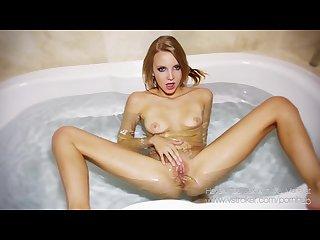 Bath time with mai marie