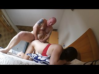 Korean milf massage blowjob and fuck part 2