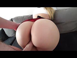 Big ass schoolgirl has sex