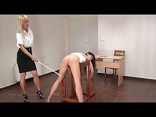 Caprice spanking