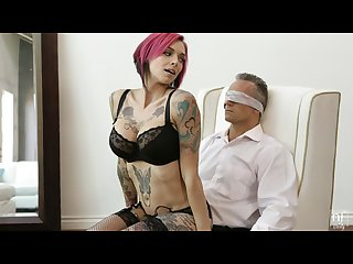 Nf busty big tit Anna bell peaks tied up and fucked client