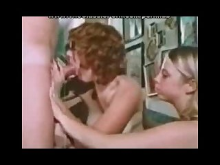 Rough violent sex in classic porn movie