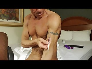 Hotel slamming coke dildos and self fisting tweaking my brains out