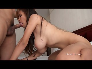 Asian girl doing blowjob and 69 position