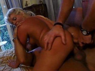 Cristina Ponzi & Pascal St James & Sebastian Barrio, Double Anal blonde