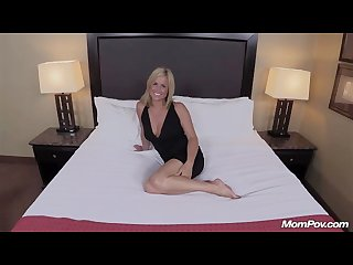 Hot blonde milf creampie delight