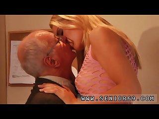Teen swallows old man paul rock hard tear up christen