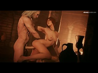 Shani and the witcher