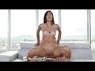 Myveryfirsttime new uncensored version kimberly costa first anal