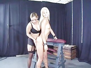 Bondage bitch interviews scene 3