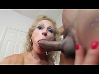 Amazing mom loves black cock must watch
