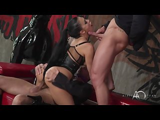 Aletta ocean black leadher double pleasure alettaoceanlive