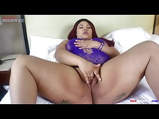 Blasian Carmen Yung returns to ride Don Prince big black cock on BBWHighway