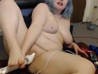 Bbw Nerd on webcam