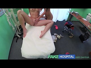 Fakehospital naughty blonde nurse sexually seduces stunning new patient