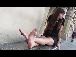 Hania feet 8