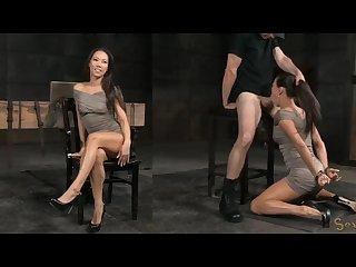 Kalina Ryu Throatfucked and Violated