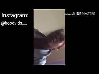 Thug fucks girl while bestfriend in the room
