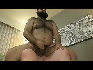 Ride hairy bear fuck