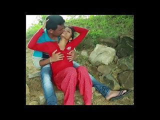 Hot romantic scene from bhojpuri movie