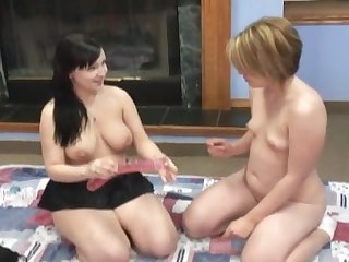 Sisters having sexfun