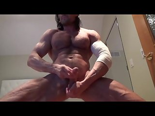 Veiny muscle god muscle flex jo cums