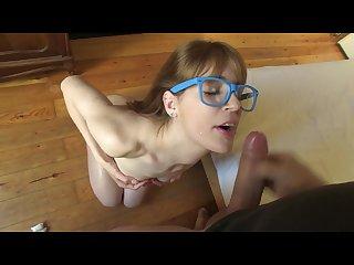 Horny latina girlfriend likes to suck and fuck