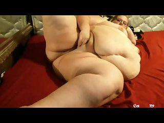 Watch at me bbw milf with sexy glasses masturbating my fat pussy