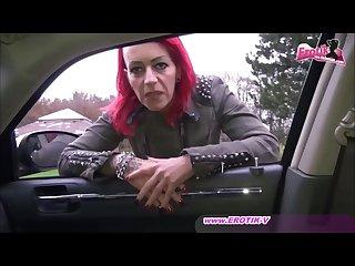 Echte deutsche nutte am rastplatz gefickt
