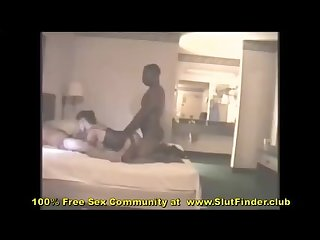 Vintage shared wife sucks hubby while pounded by huge black dick