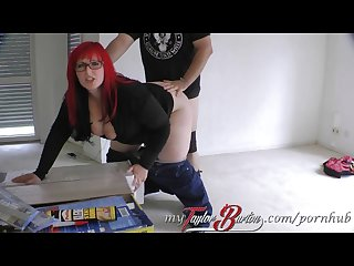 Taylor Burton german hot bbw creampie