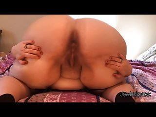 Fire bbw spreads and shakes ass shows off ass hole and talks dirty l