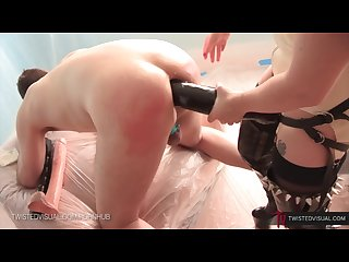 Aiden starr and slut bottom chris boy butt electro anal stretching