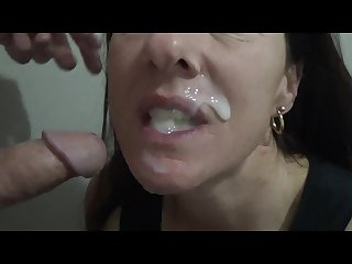 Cumslut wants her mouth filled