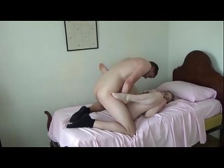 Brother ties up and fucks bit tits sister