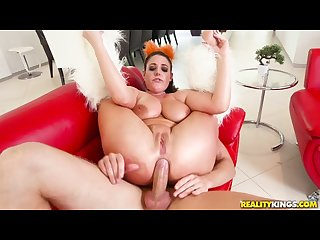 Reality Kings - Angela White gets her gaping asshole fucked hard