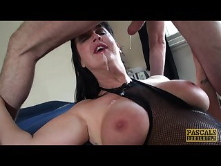 Carnivorous milf Jessie jo fed with pascal s man meat