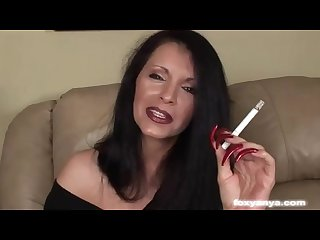 Foxyanya smoking sex